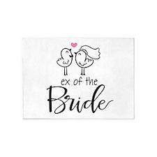 Ex of the Bride 5'x7'Area Rug