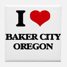 I love Baker City Oregon Tile Coaster