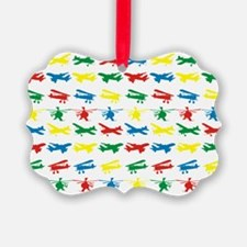 Planes and Choppers Ornament