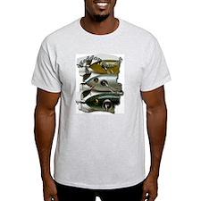 Heddon Collector Ash Grey T-Shirt