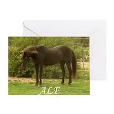Alf Greeting Card
