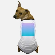 purple turquoise ombre Dog T-Shirt