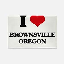 I love Brownsville Oregon Magnets