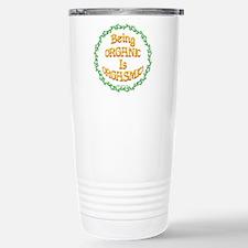 Being Organic is Orgasmic!!! Travel Mug