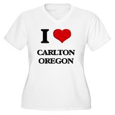 I love Carlton Oregon Plus Size T-Shirt