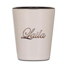 Gold Laila Shot Glass