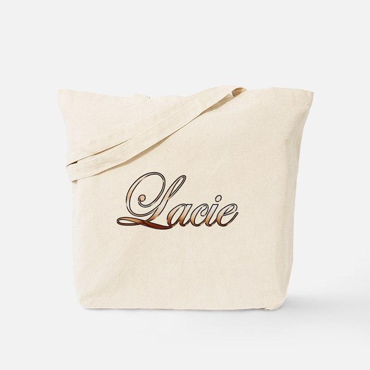 Gold Lacie Tote Bag