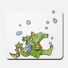 Dragon Bubbles Mousepad