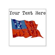 Western Samoa Flag Sticker
