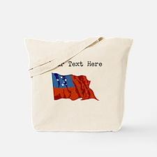 Western Samoa Flag Tote Bag