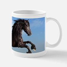 Black Horse Running Mugs