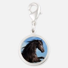 Black Horse Running Charms