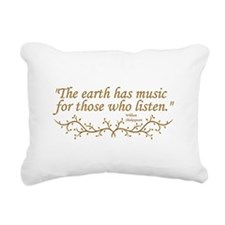 """""""The Earth has music for those who listen."""" Rectan"""