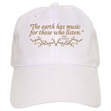 """The Earth has music for those who listen."" Baseba"
