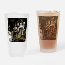 Cute Motorcycle adventure travel Drinking Glass