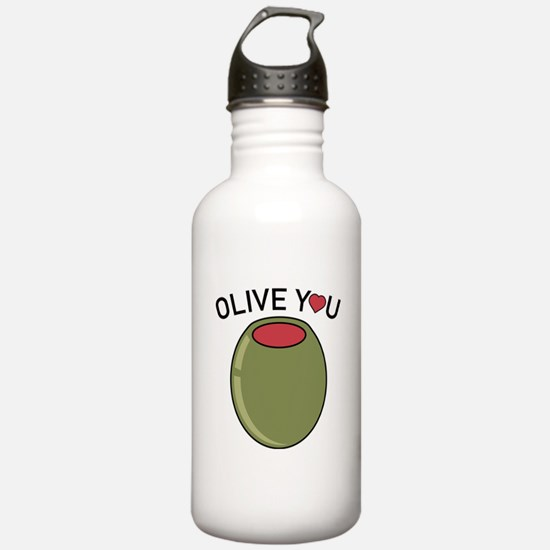 Olive You Water Bottle