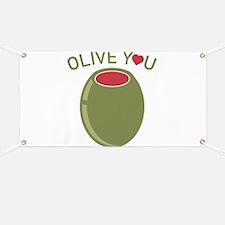 Olive You Banner