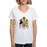 March Family Crest Women's V-Neck T-Shirt
