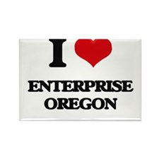 I love Enterprise Oregon Magnets