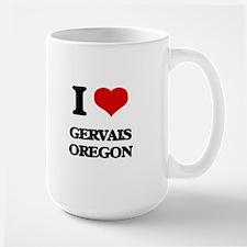 I love Gervais Oregon Mugs