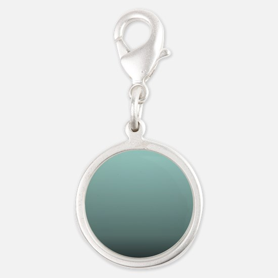 teal seafoam ombre Charms