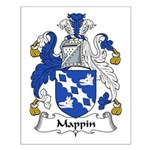 Mappin Family Crest Small Poster