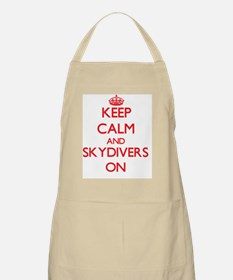Keep Calm and Skydivers ON Apron