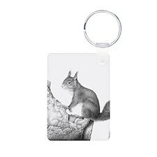 Red Squirrel Keychains Keychains