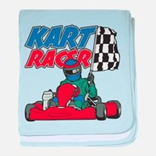 Kart Racer baby blanket