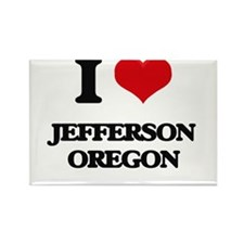 I love Jefferson Oregon Magnets