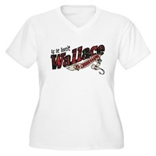 Wallace_M Plus Size T-Shirt