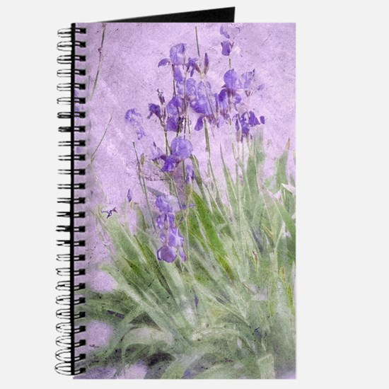 Purple Irises Journal