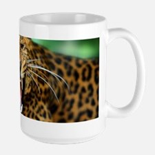 Growling Leopard Mugs