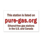 This Station Rectangular 20x12 Wall Decal