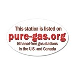 This Station 35x21 Oval Wall Decal