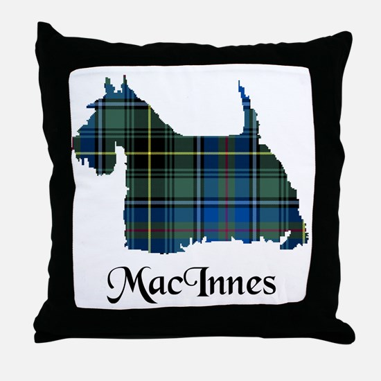 Terrier - MacInnes Throw Pillow