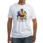 Manners Family Crest Fitted T-Shirt