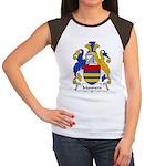 Manners Family Crest Women's Cap Sleeve T-Shirt