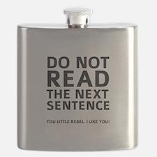 Do Not Read The Next Sentence Flask
