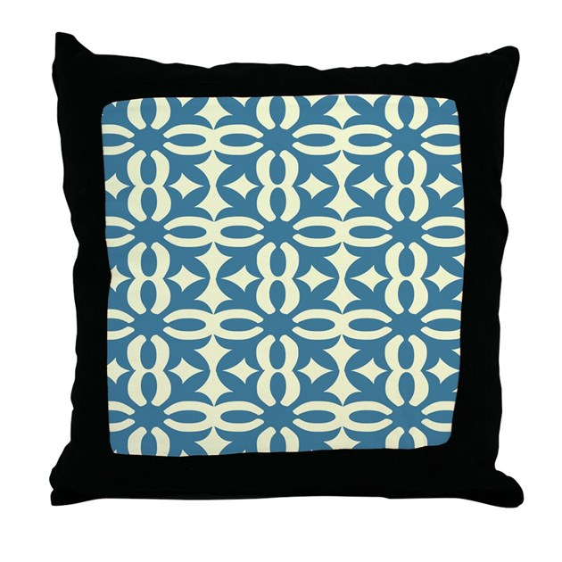 Dusty Blue Decorative Pillows : Dusty Blue Victorian Lace Throw Pillow by crazycheckerboards