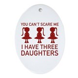 Funny Oval Ornaments
