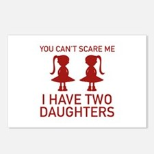 I Have Two Daughters Postcards (Package of 8)