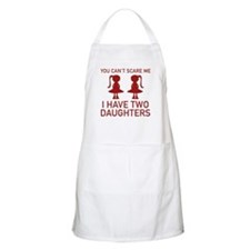 I Have Two Daughters Apron
