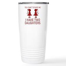 I Have Two Daughters Ceramic Travel Mug