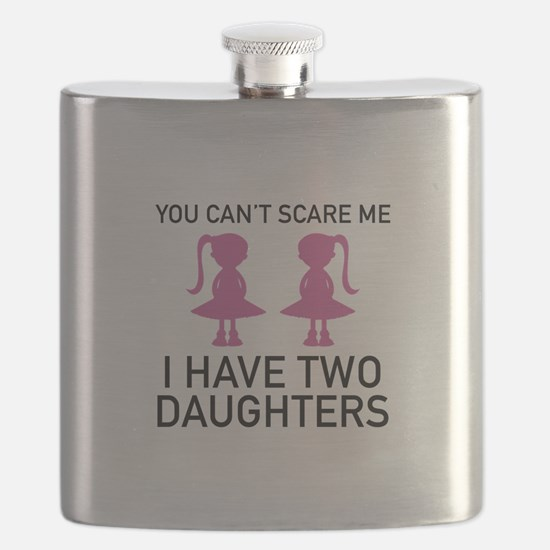 I Have Two Daughters Flask