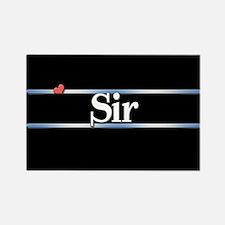 Sir Rectangle Magnet