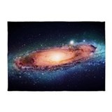 Galaxy central milky way 5x7 Rugs
