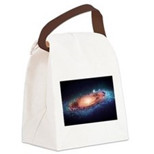 Milky Way Canvas Lunch Bag