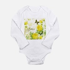 Believe - yellow roses Body Suit