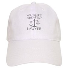 World's Greatest Lawyer Baseball Cap